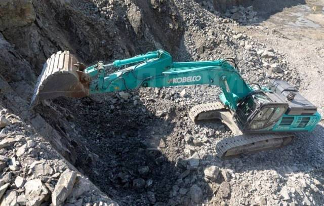 Kobelco SK350LC. Карьерный экскаватор , 35 тонн Япония с гидролинией, 1,70куб. м.