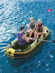 Лодка надувная Bestway 65096, Marine,3 местная