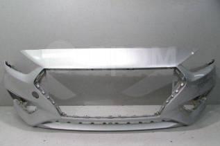 Бампер передний серебристый Солярис 2 Solaris 2
