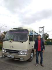 Услуги/аренда автобуса 20 мест, с водителем, частное лицо.