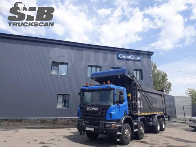 Scania P440. Продается самосвал 8X4 2018 г. в в Новосибирске, 13 000куб. см., 50 000кг., 8x4