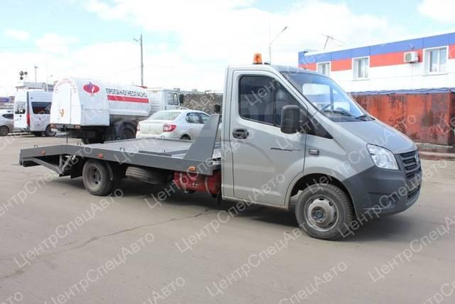 ГАЗ ГАЗель Next. Автоэвакуатор ГАЗель Некст/А21R25 с ГБО ломаная платформа, 2 690куб. см., 1 500кг., 4x2
