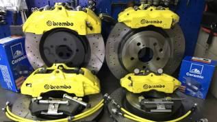 Тормозная система- Brembo 6 поршней Made in Italy