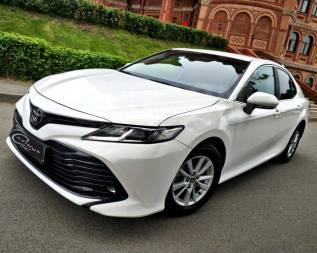 Аренда авто. Toyota Camry 2018 год от 4000 руб/сутки. Прокат авто