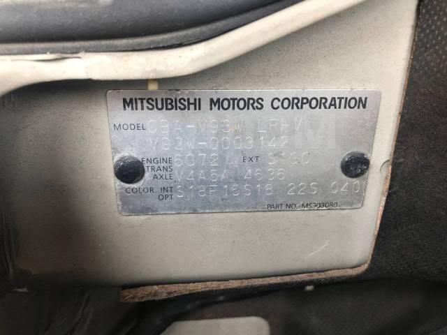 Дверь боковая. Mitsubishi Pajero, V93W 6G72