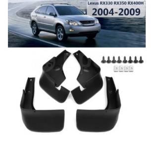 Брызговики для Lexus RX300/330/350/400H с шурупами. Качество!