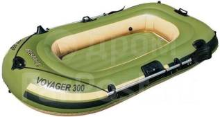 Лодка надувная Bestway Hydro-Force Voyager 300 - Доставка бесплатно