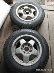 Пара зимних колёс на литье на ВАЗ