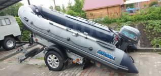 Продам лодку 4 метра пвх под водомет, Stormline Jetpro