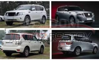 Тюнинг. Рестайлинг Nissan Patrol Y62 2020+. Установка