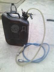 Канистра с топливным шлангом