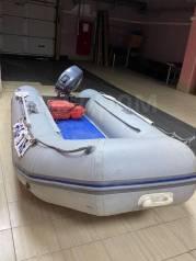 Продам лодку Солар 350 + мотор Ямаха 2Т 15 сил