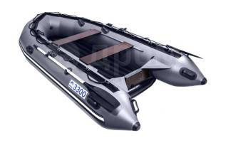 Надувная лодка ПВХ, Apache 3300 НДНД, графит