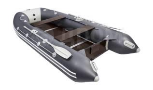 Надувная лодка ПВХ, Таймень LX 3600 СК, графит/светло-серый