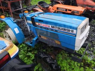 Минитрактор Mitsubishi MT1401 в разбор по запчастям.