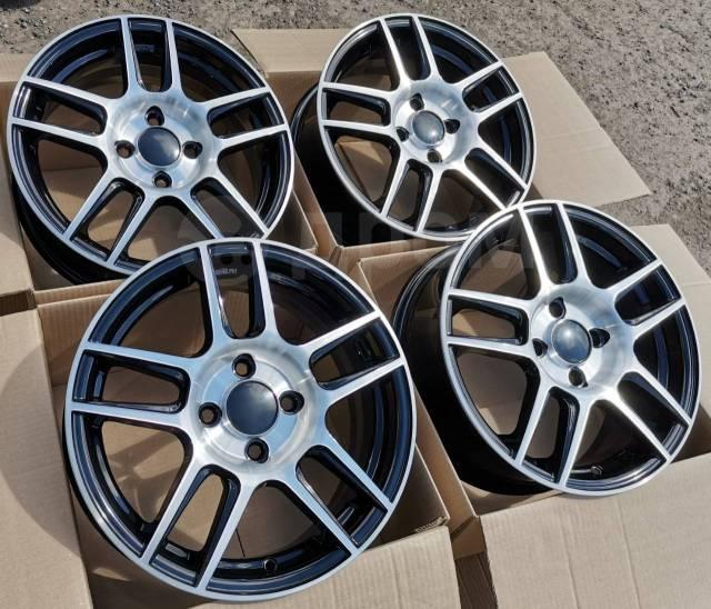 Новые литые диски K7 на Kia Rio, Hyundai Solaris R15