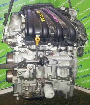 Двигатель в сборе. Nissan: Wingroad, Tiida, Bluebird Sylphy, Cube, Tiida Latio, AD, March, Note HR15DE