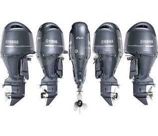 Моторы Yamaha в разбор.