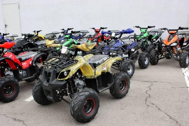 Огромный выбор квадроциклов объемом 50-125-150-175-200-250-300сс