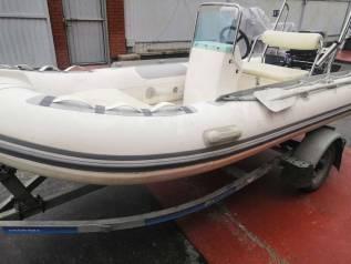 Лодка ПВХ RIB Ahiles 4м