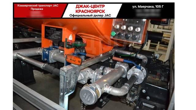 JAC N80. Новый грузовик топливозаправщик от официального дилера, 3 760куб. см., 5 000кг., 4x2