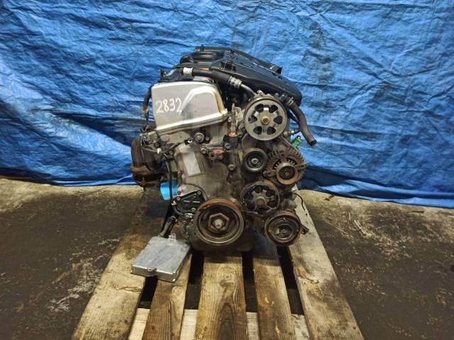 Двигатель в сборе. Honda: Elysion, Odyssey, CR-V, Element, Accord Tourer, Edix, Stepwgn, Accord K24A, K20A4, K20A5, K24A1, K24Z1, K24Z4, K24Z6, K24A3