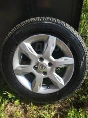 Комплект жирных зимних колес на литье Nissan Almera Ниссан Альмера
