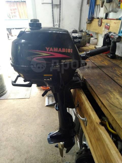 Yamabisi. 2,50л.с., 4-тактный, бензиновый, нога S (381 мм), 2018 год