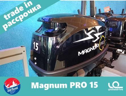 Magnum Pro. 15,00л.с., 2-тактный, бензиновый, нога S (381 мм), 2020 год