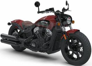 Мотоцикл Indian Scout Bobber Indian Red, 2018