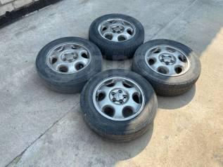 Оригинальные 15 диски Subaru на резине 195/65