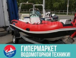 Лодка риб Stormline Luxe 420 с консолью RIB