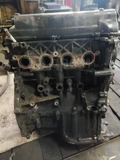 Двигатель в сборе. Toyota Corolla 2NZFE