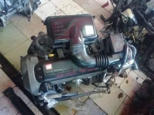 Двигатель в сборе+акпп