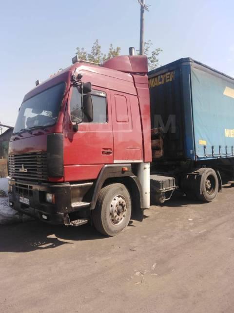 МАЗ 544008. Продается тягач МАЗ + п/п, 14 860куб. см., 18 000кг., 4x2