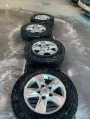 Комплект колёс 4шт Dunlop Grandtrek AT3 с дисками Toyota Land Cruiser