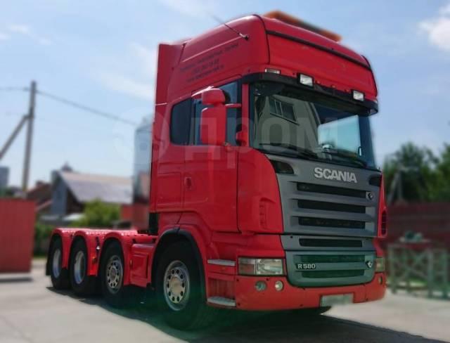 Scania R580. Продам седельный тягач , 15 607куб. см., 46 000кг., 8x4