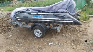 Продаётся лодка с мотором и телегай