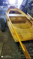 Продается гребная деревянная лодка