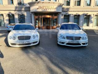 Прокат Bentley , Mercedes с водителем