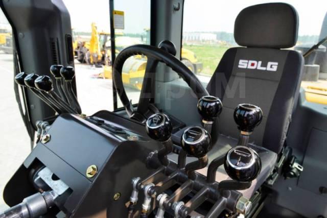 SDLG G9220. Автогрейдер полноприводный AWD (КПП -Автомат, КРУЗ-Контроль), 7 146куб. см.