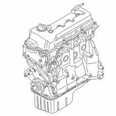 Двигатель Nissan QG18DE Black Top