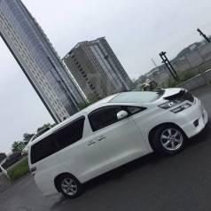 Аренда минивэна Toyota Vellfire с водителем, 7 мест.