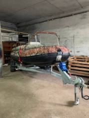Продам готовый комплект Лодку ПВХ Solar - 520 Стрела Jet Tunnel