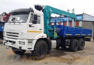 КамАЗ-43118 с краном HKTC HLC-7016L, 2020