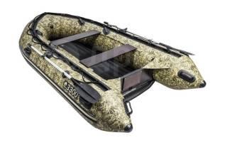 Надувная лодка ПВХ, Apache 3300 НДНД, камуфляж камыш