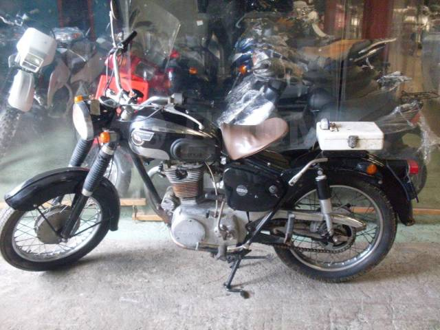Kawasaki. 250куб. см., исправен, птс, без пробега