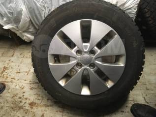 Шины 185/65 R15 Michelin X-ice Norh 4 на оригинальных дисках KIA RIO