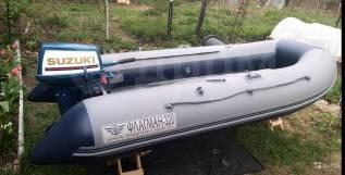 Лодка флагман 320 нднд+ мотор suzuki 9.9-15