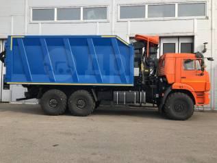 КМУ Ломовоз КамАЗ-43118-3027-50 (Евро-5), кузов 30 куб., Р97М, захват ГЛ-6М,, 2020